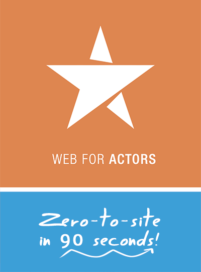 Websites for actors